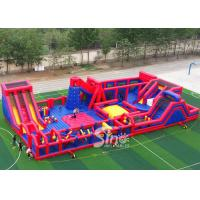 Buy cheap 30x15m kids N adults big indoor inflatable theme park for indoor inflatable from wholesalers