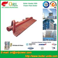 Best Power Plant CFB Boiler Header / Boiler Low Loss Header High Temperature wholesale