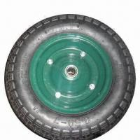 Best Wheelbarrow Pneumatic Tire with Ball Bearing wholesale