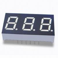 Best 0.4-inch Triple Digit Numeric Display with Yelow Segment and Low-power Requirement wholesale