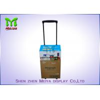 Best Folding Carton Cardboard Trolley Bag For Fair Exhibition , Easy - Assembling wholesale