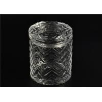 Best Bulk Glass Tealight Holders / Glass Candlestick Holders Used In Sented Soy Wax wholesale