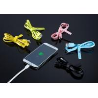 Best TPE Noodle Flat Fast Charging Multifunction USB Cable For SAMSUNg Galaxy S3 wholesale