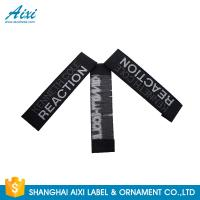 Best Good Feeling - Touch Custom Printed Clothing Labels , Soft Woven Garment Labels wholesale