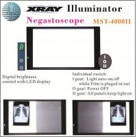 Buy cheap 7 Level Digital Brightness Control X-ray Film Viewing Illuminator Mst-4000II Double Panels from wholesalers