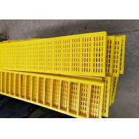 Best 300mm Width Polyurethane Screen Mesh Used For Dewatering of Broken Aggregates wholesale