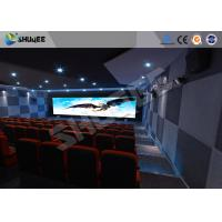 Best Attractive 5D Theater System 4DOF Motion Chairs With Special Effect wholesale