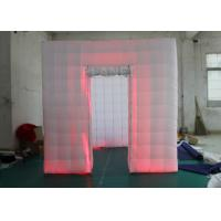 Best Outdoor Inflatable Photo Booth Double Triple Stitches Customized Color wholesale