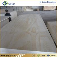 Buy cheap 9mm/18mm Poplar Core Pine Laminated Plywood from wholesalers