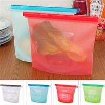 Best Factory 1L or 1.5L 4 colors Option Silicone Food Storage Bag wholesale