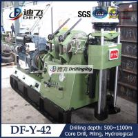 Best DF-Y-42T trailer mounted geological core drill rig wholesale
