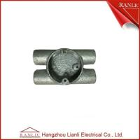 Best Twin Through H Way Conduit Junction Box Steel Conduit Fittings / Hot Dip Galvanized wholesale