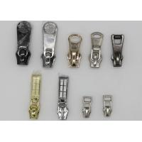 Buy cheap Different Styles Personalized Zipper Pulls , Gunmetal Decorative Zipper Pulls For Purses from wholesalers