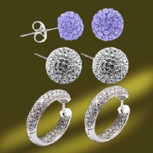 Best Popular Crystal Earring wholesale