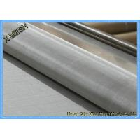 """Best 200mesh Plain Weave 304 Alloy Stainless Steel Screen Roll  48""""X100"""" Anti Corrosion wholesale"""