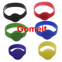 Best Smart  Custom Rfid Tag Wristband , Rfid Enabled Wristbands High Temperature Endurable wholesale