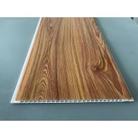 Buy cheap Wood Transfer Printing 250mm Decorative PVC Panels Waterproof Ceiling from wholesalers