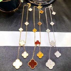 Best van jewelry and gifts van cleef necklace van cleef alhambra how much is a van cleef necklace wholesale