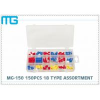 Best MG - 150 Customized Wire Terminal Assortment Kit 18 Types Terminals / Disconnects With PO Box wholesale