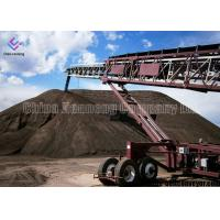 Best Heat Resistant Portable Electric Conveyors , Coal Mining Industry Portable Conveyor Belt Systems wholesale