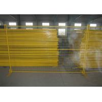 Best Residential Safety Temporary Construction Fence Panels Excellent Rust Resistance wholesale