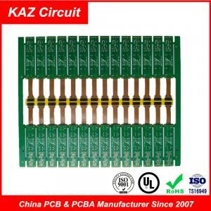 Best 2 Layer PCB Board FR-4&PI ENIG Rigid Flex Circuit Board 1.6 Mm 1 Oz Copper wholesale