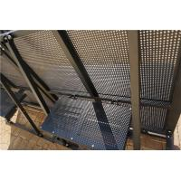 Best Construction Crowd Control Barriers Foldable For Events / Traffic wholesale