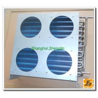 Details of louver fin stainless steel condensers