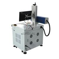 Cheap Fast 30W Co2 RF Plywood MDF  Laser Marking Machine with Different Depth for sale