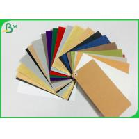 Cheap Durable DIY Washable Kraft Paper Fiber - Based Texture  For Wallet for sale