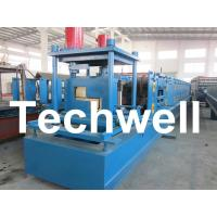 Best Customized Steel Z Shaped Purlin / Z Channel Roll Forming Machine TW-Z300 wholesale