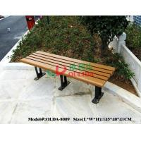 Best Rotproof Wood Plastic Composite Bench Anti - UV Color Stability No Cracking wholesale