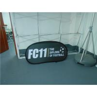 Cheap Twist Up Horizontal Popup A Frame Banners Waterproof Dye Sublimation Printing for sale