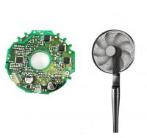 Best Floor Fan DC24V Input Brushless Bldc Motor Driver Board Remote WIFI Control wholesale