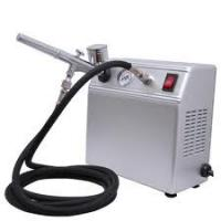 China Portable Auto Start Airbrush Tattoo Kit with Tanning Gun and Black Air Hose for Body Art on sale