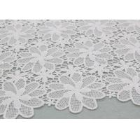Buy cheap Floral Poly Dying Lace Fabric Guipure French Venice Lace African Lace Dress from wholesalers