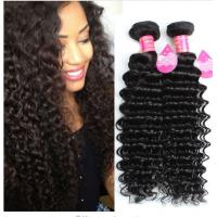 Best Long Lasting Brazilian Deep Wave Human Hair , 8A Brazilian Virgin Hair wholesale