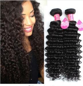 Best Long Lasting Brazilian Deep Wave Human Hair , 8A Brazilian Virgin Hair wholesale
