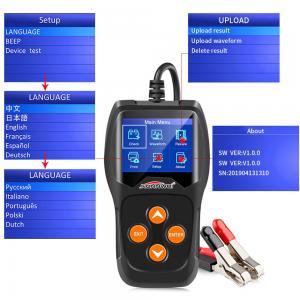 Best Car Lead Acid Battery Load Tester KONNWEI KW600 Support XP WIN7 WIN8 WIN10 wholesale