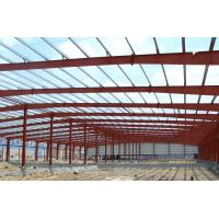 Quality Fabrication Safety Industrial Steel Structures , Single Span Fabricated Steel Buildings wholesale