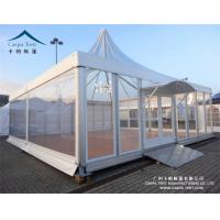 Buy cheap UV Resistant Outdoor Big Event Pagoda Canopy Tent With Glass Wall from wholesalers