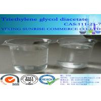 Quality Triethylene Glycol Diacetate Foundry Chemicals 111-21-7 C10H18O6 For Extraction Agent wholesale