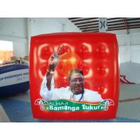 Cheap Durable Attractive Red Political Advertising Balloon, Cube Balloons for Trade for sale