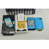 Best PC Snow Proof Waterproof Cell Phone Case Blue Lifeproof for Iphone 4g wholesale