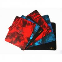 Custom Printed Smooth Fabric Rubber Mouse Pad For Promotion