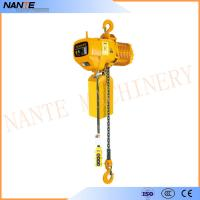 Best Industrial Electric Chain Hoist for Crane / Travelling Type / Fixed Type Electric Hoist wholesale