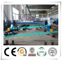 Quality Plate Cnc Plasma Cutting Machine For Flame / H Beam Steel Production Line wholesale