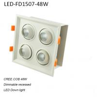 Best 48W interior europe style dimmable LED down light for department stores used wholesale
