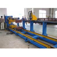 Best Industrial Plasma CNC Pipe Cutting Machine For Mild Steel / Stainless Steel Pipe wholesale