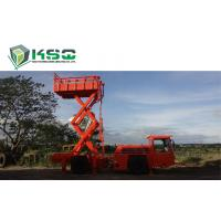 Quality Underground Service Vechicles 1 Ton Scissors Lift Truck for Underground Mining or Tunneling Project wholesale